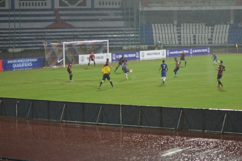 Robin Singh goal India 1-0 Guam