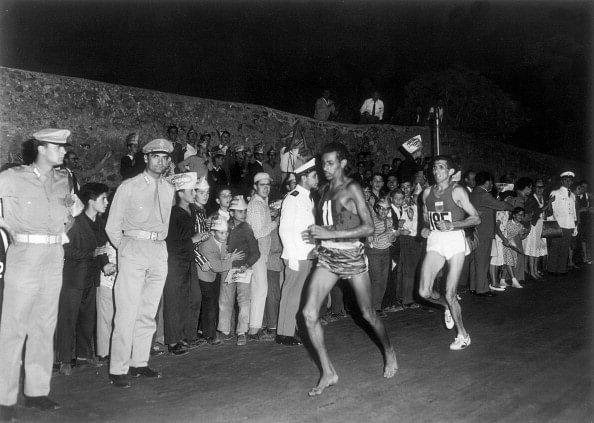 Abebe Bikila Rome Olympics 1960