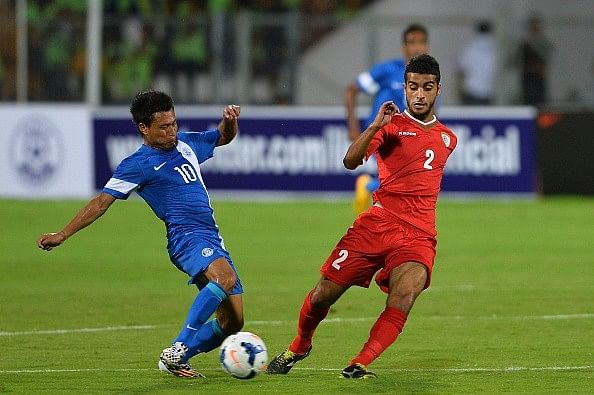Jackichand India Oman World Cup Qualifier