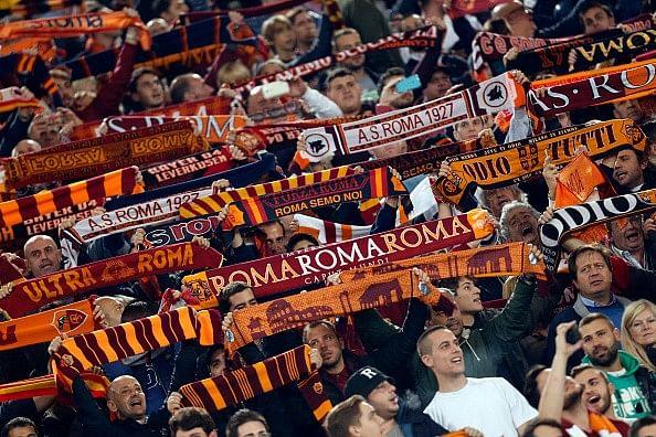 Roma fans