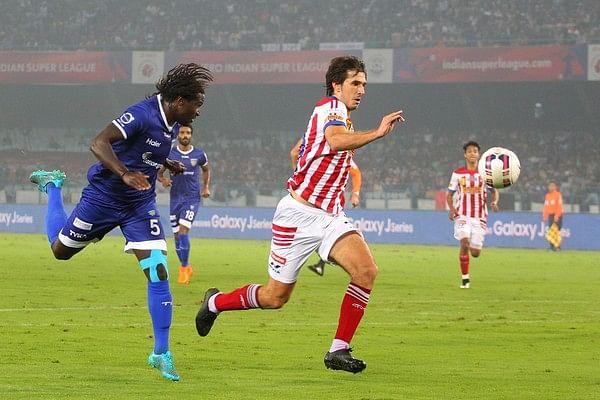 Dejan Lekic goal ISL semi-final Atletico de Kolkata Chennaiyin
