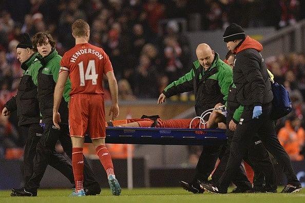 Dejan Lovren injury