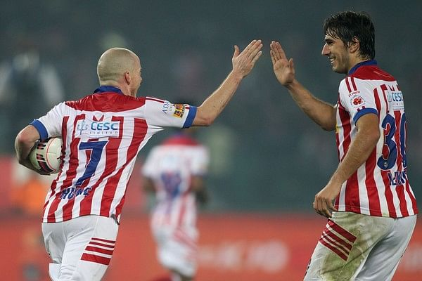 Iain Hume goal ISL Semi-final Atletico de Kolkata Chennaiyin