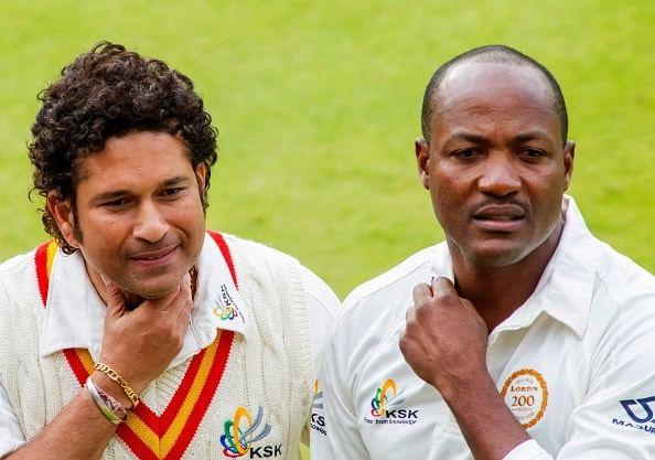 Sachin Tendulkar, Brian Lara, MCC v RoW