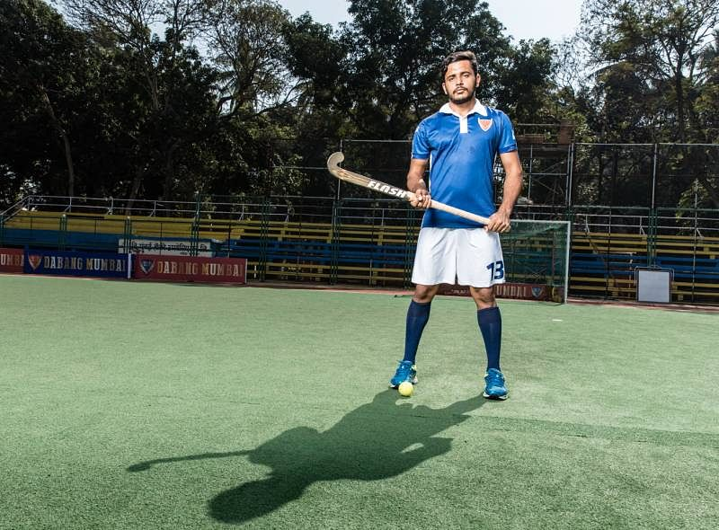 Harmanpreet Singh Dabang Mumbai hockey