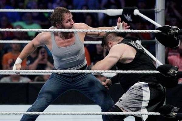 Dean Ambrose vs Kevin Owens stole the show