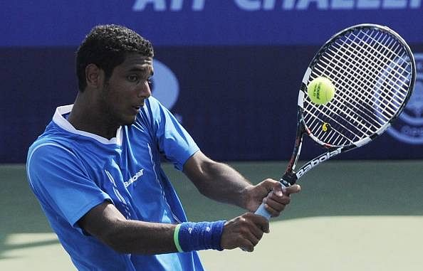 Ramkumar Ramanathan 2016 Aircel Chennai Open