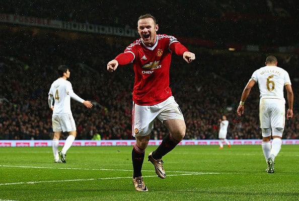 Rooney Manchester United Swansea