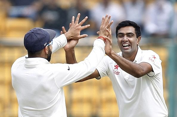 R Ashwin Test cricket India