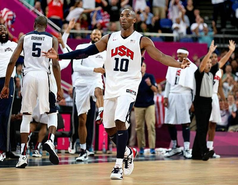 kobe bryant at 2012 olympics