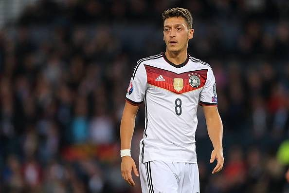 Mesut Ozil Germany Player of the Year 2015