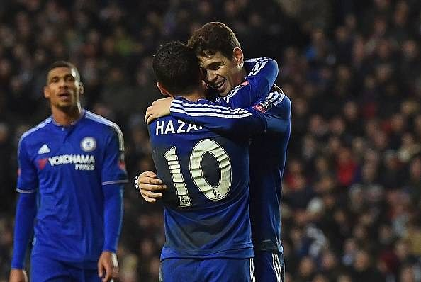 MK Dons 1-5 Chelsea goals Oscar Eden Hazard highlights