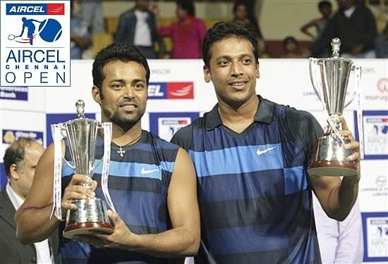 Leander Paes Mahesh Bhupathi 2002 finals Aircel Chennai Open