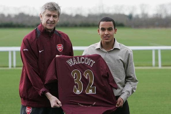 Theo Walcott Arsenal 2006