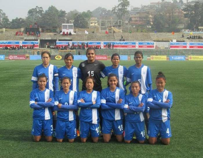 sa games india women football