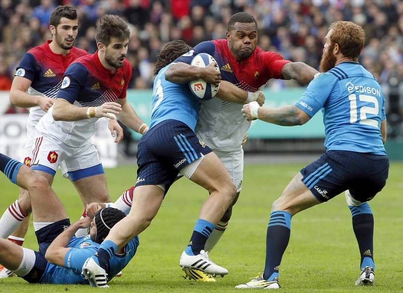 Rugby Union - France vs Italy - Stade de France, Paris, France - 6/2/16. France
