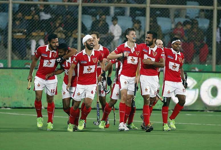 Dabang Mumbai Hockey Club Delhi Waveriders Hockey India League HIL