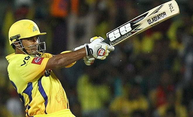 Subramaniam Badrinath played for the Chennai Super Kings in the IPL