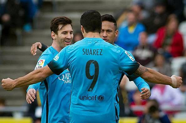 Barcelona 2-1 Las Palmas goals highlights