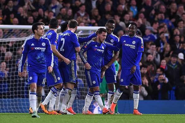 Chelsea 5-1 Manchester City FA Cup goal highlights Eden Hazard free kick