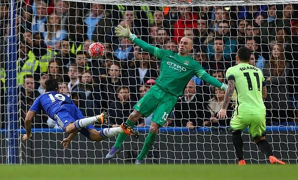 Chelsea Diego Costa goal Manchester City FA Cup highlights