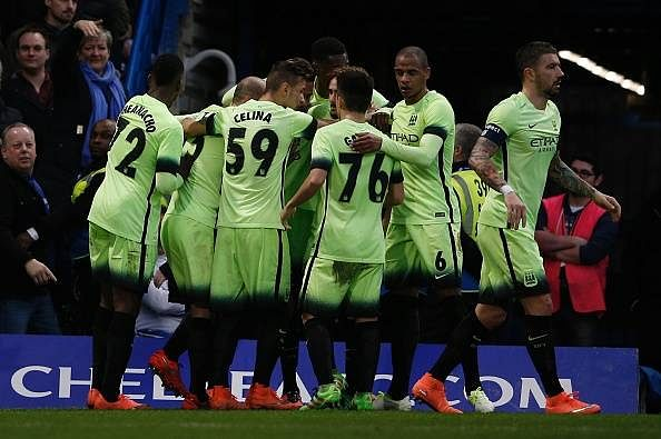 David Faupala goal Manchester City Chelsea