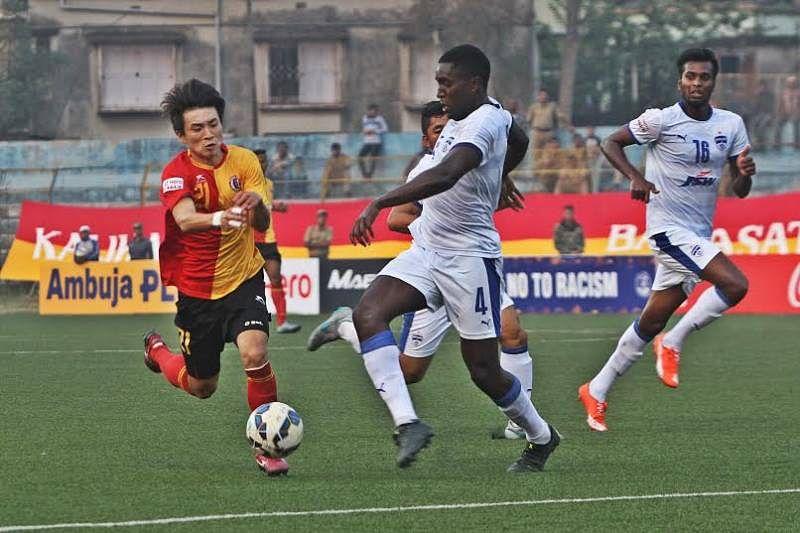 East Bengal-Aizwal FC I-League