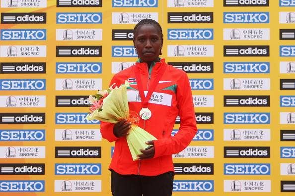 Florence Kiplagat won the Women