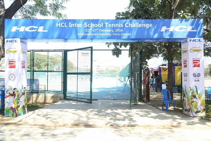 hcl inter school tennis