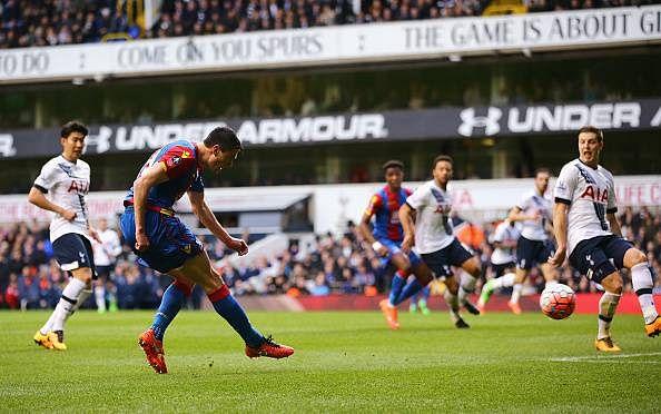 Martin Kelly goal Crystal Palace Tottenham Hotspur FA Cup