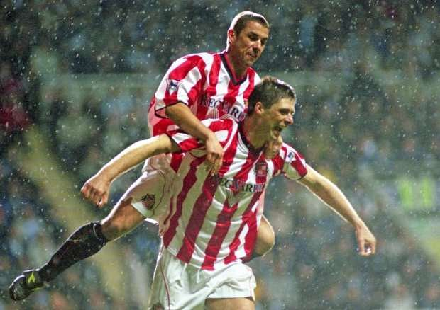 Niall Quinn and Kevin Phillips