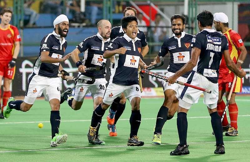 Nilakanta Sharma goal celebrations