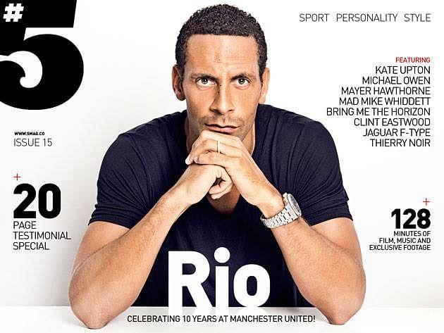 Rio Ferdinand #5 magazine