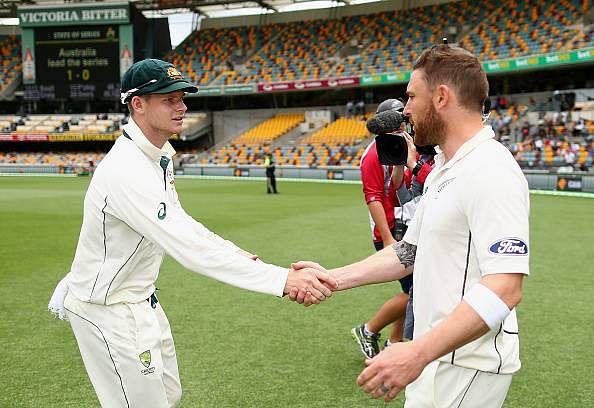 Steve Smith Brendon McCullum Australia New Zealand No. 1 Test Ranking