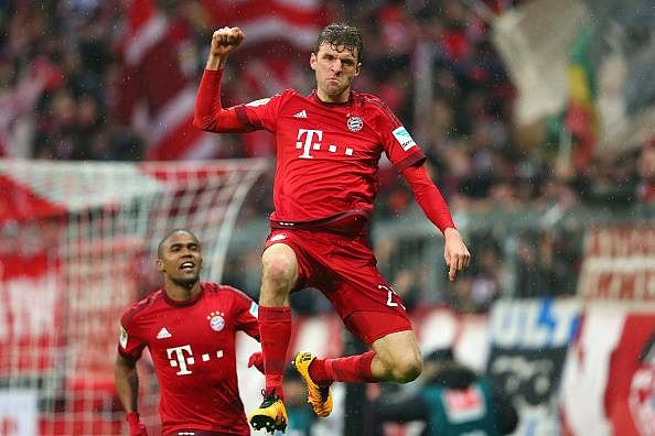 Thomas Muller goals highlights Bayern Munich Darmstadt