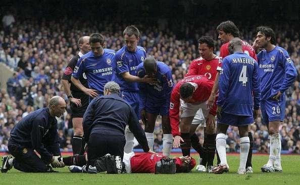 Wayne Rooney injury metatarsal injury 2006