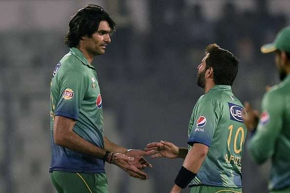 Irfan and Afridi