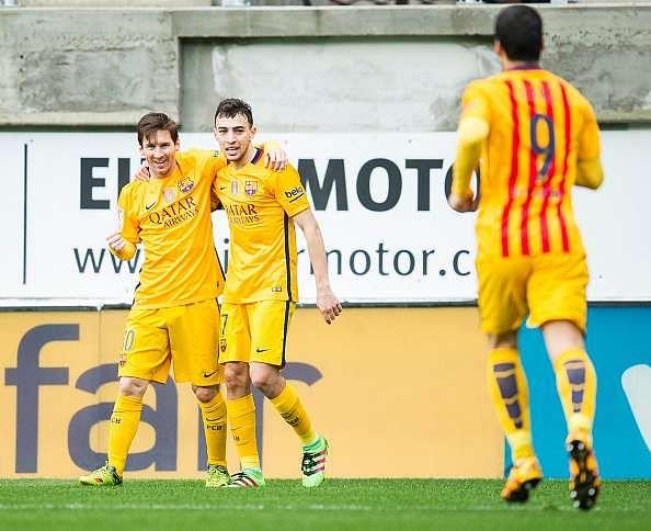 Messi Munir Suarez Barcelona Eibar
