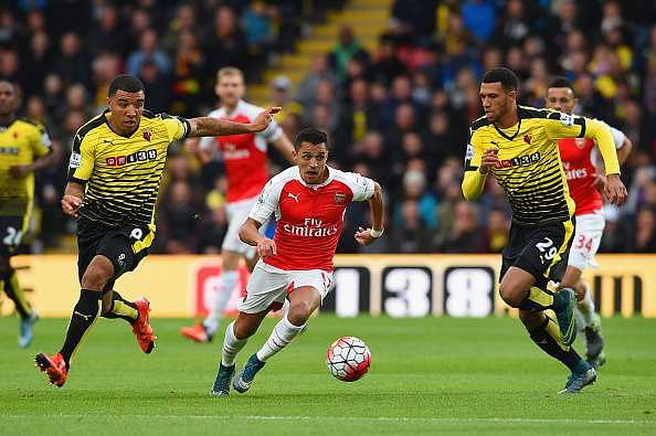 Alexis Sanchez Arsenal Watford