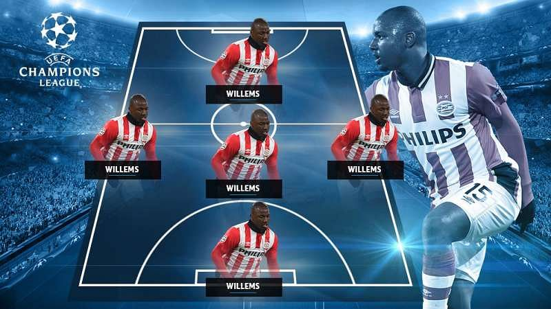 Willems UEFA dream team