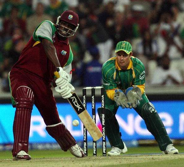 Chris Gayle West Indies vs South Africa World T20 2007