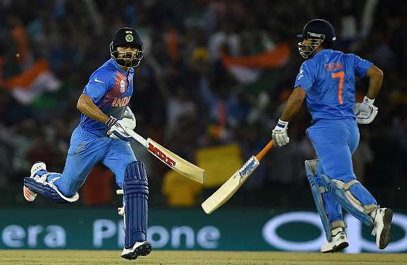 The Dhoni-Kohli duo gave the world a lesson in athleticism