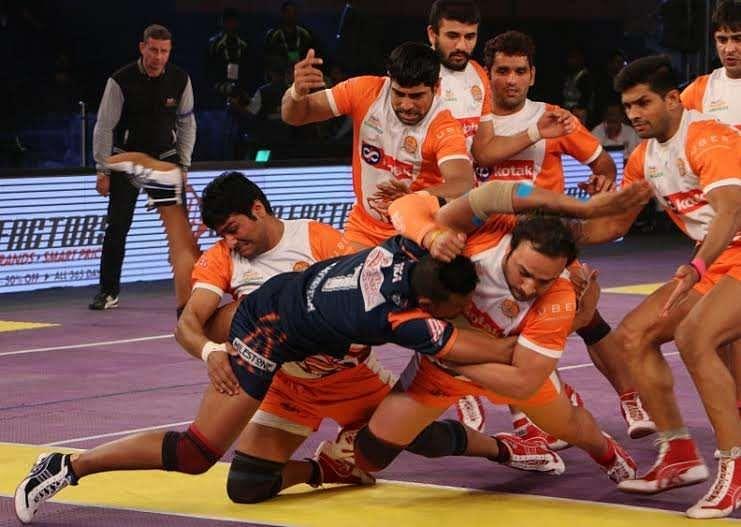Puneri Paltan Mahendra Rajput Bengal Warriors Pro Kabaddi
