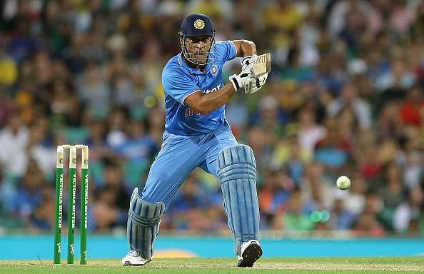 MS Dhoni hit a crucial six in the last over and ensured Pandey got the strike when he got out