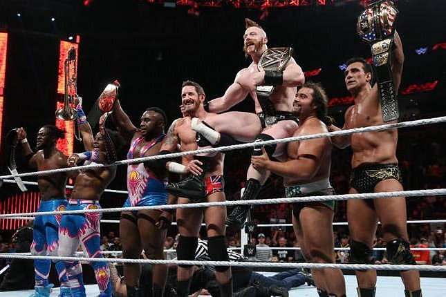 Wrestlemania 32 Rumors Tag Titles Not On The Line Between New Day League Of Nations