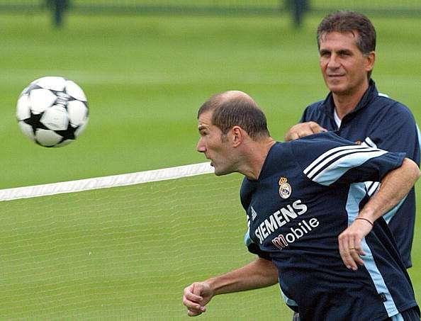 Queiroz Zidane Perez Real Madrid Barcelona