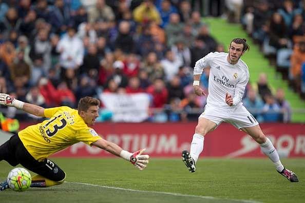 Gareth Bale goal Getafe Real Madrid