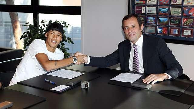 Neymar Sign
