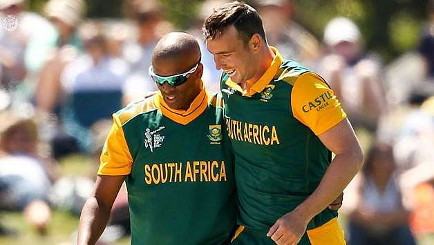 Kyle Abbott was dropped for Vernon Philander to meet the guidelines in the semi-finals of 2015 World Cup