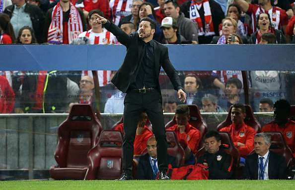 Simeone is the ultimate hard worker